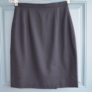 Black A-Line Career Skirt by Ann Taylor Sz. 4